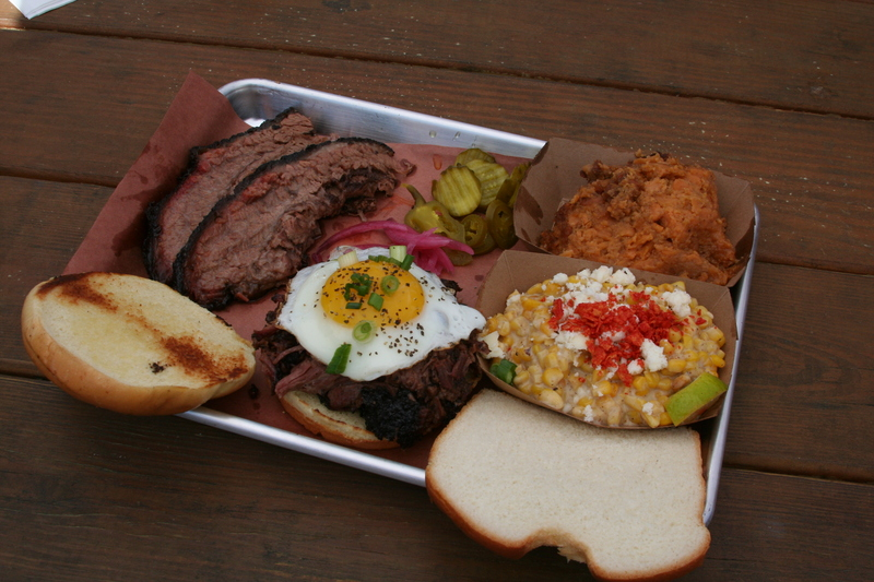 Bad Wolf BBQ plate