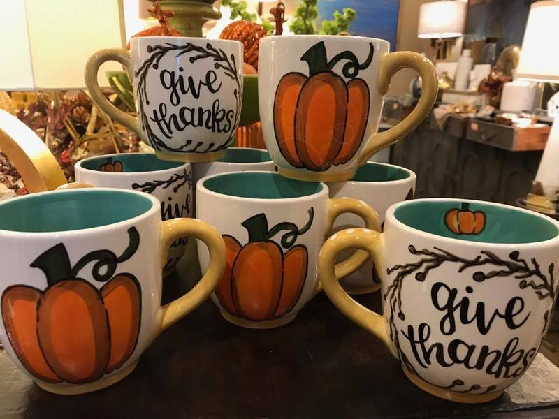 Coffee mugs for sale at Holidays in CedarTown.jpg
