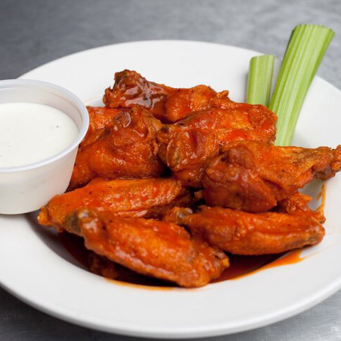 Chicken wings from DawgHouse