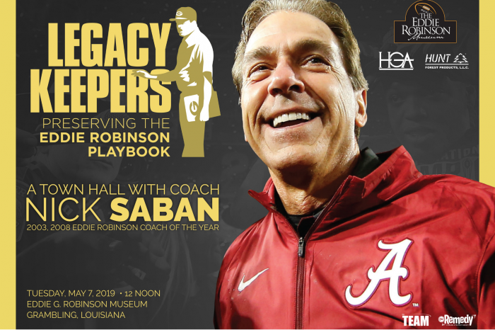 A Town Hall with Coach Nick Saban