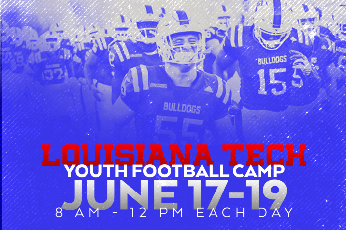 Louisiana Tech Football: Youth Camp