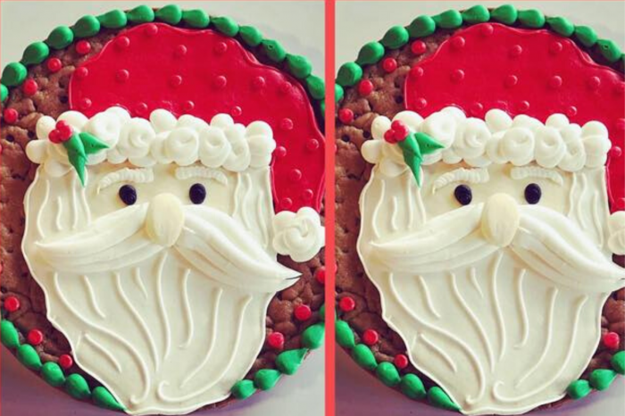 Here Comes Santa Claus: Cookie Cake Decorating