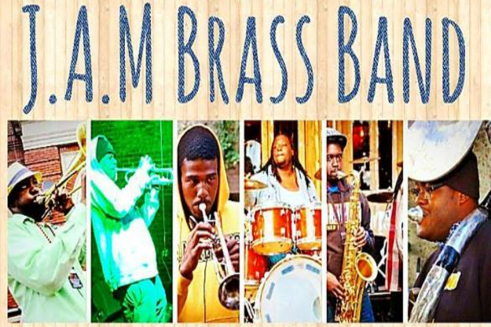 LA Tech Homecoming Kickoff with J.A.M. Brass Band Live at Sundown
