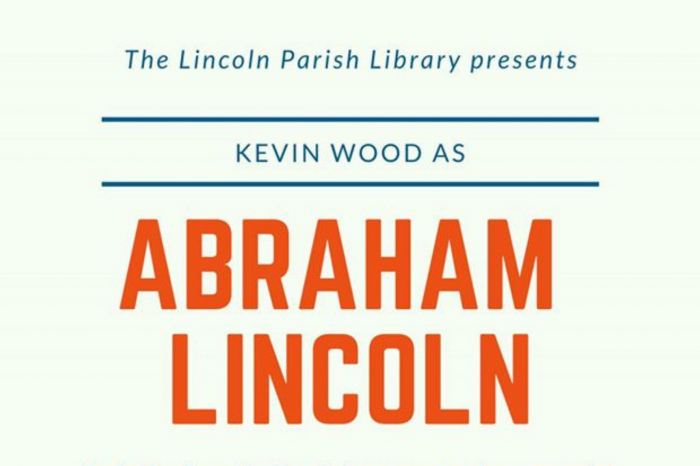 President Abe Lincoln at the Lincoln Parish Library