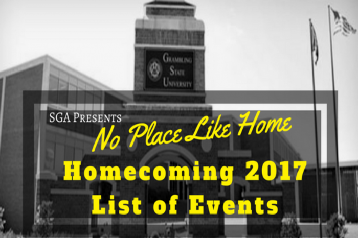 GSU Homecoming 2017: List of Events