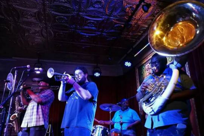 J.A.M. Brass Band Live at the Dawg House