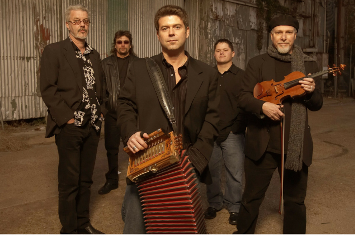 NCLAC presents Steve Riley & the Mamou Playboys