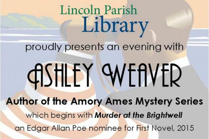 An Evening with Ashley Weaver